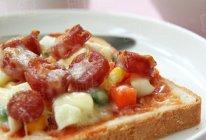 一日健康从早餐开始--吐司披萨的做法