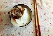 白萝卜枸杞筒骨汤的做法