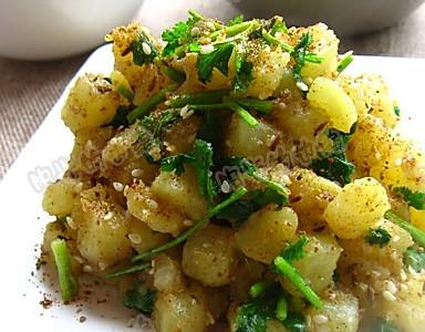 孜然土豆粒的做法