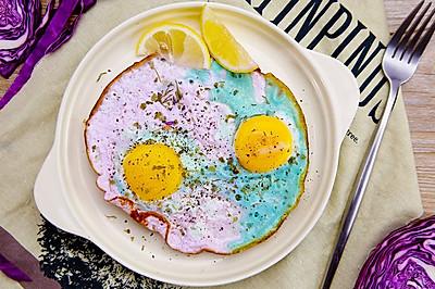 变色鸡蛋 | 太阳猫早餐