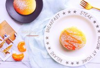 减脂期超快手治愈系早餐蜂蜜松饼的做法