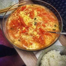 西红柿馓子汤