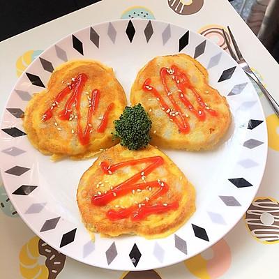 宝宝早餐 鸡蛋土豆饼