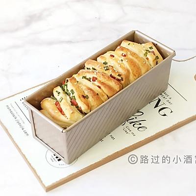 香葱火腿吐司面包