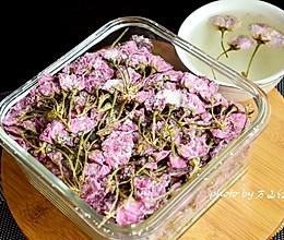 盐渍樱花的做法