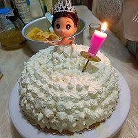 8寸芭比生日蛋糕
