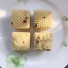 奶香蔓越莓绿豆冰糕