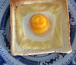 鸡蛋芝士吐司的做法