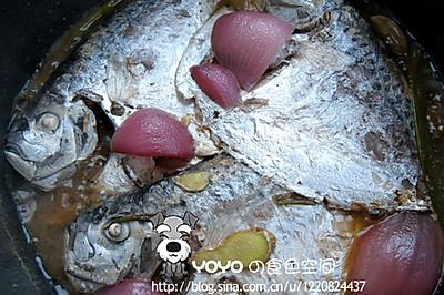 烧飞鲳鱼简单爱不辣的家常菜图片