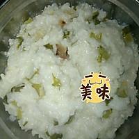 腊肉青菜粥