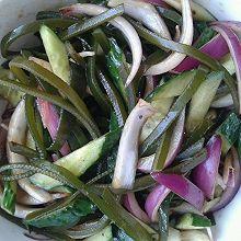 海带丝拌黄瓜
