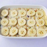 #晒出你的团圆大餐#香蕉牛奶烤燕麦的做法图解9
