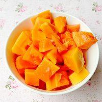 港式美人甜品--木瓜银耳百合羹的做法图解5