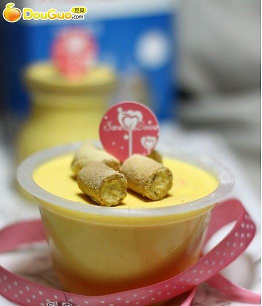 可爱点心:南瓜乳酪慕斯小蛋糕的做法