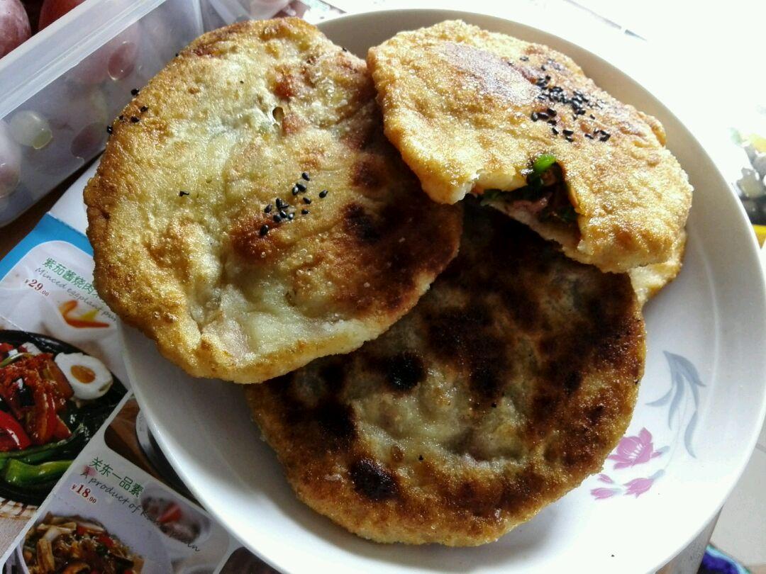 青椒火腿饼的做法图解1