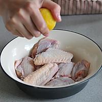 柠香黑胡椒烤翅的做法图解1