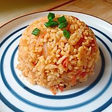 #美食视频挑战赛#番茄洋葱蛋炒饭