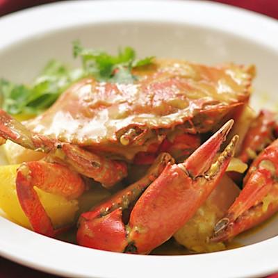 海鲜咖喱蟹