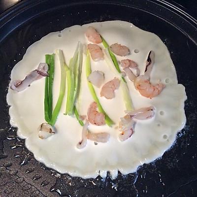 利仁电饼档试用之韩式海鲜煎饼的做法 步骤10