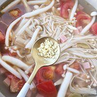 番茄菌菇汤的做法图解8