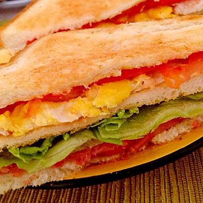 五分钟无脂三明治