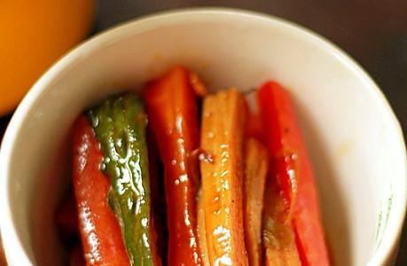 油酱小菜(自制清粥配菜)的做法
