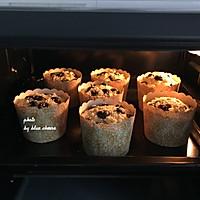 """茶油蓝莓玛芬#在""""家""""打造ins风美食的做法图解10"""