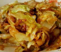 花椒包菜的做法