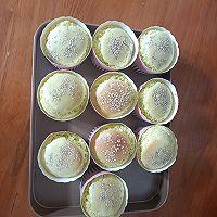 波菜之麻蛋糕的做法图解1