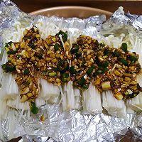 #美食新势力#烤箱版蒜蓉金针菇的做法图解15