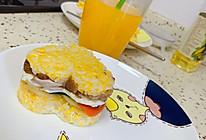 中式汉堡/三明治的做法