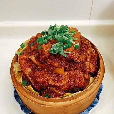粉蒸肉(自制蒸肉粉)