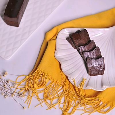 巧克力冻派