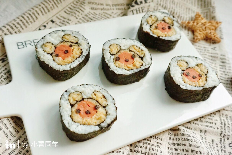 可爱小熊寿司#快乐宝宝餐