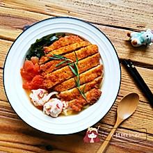 【一人食】猪排味噌乌冬