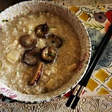 #换着花样吃早餐#海参春笋香菇粥