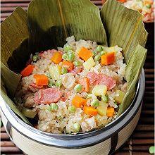 懒人粽子:什锦豌豆糯米饭