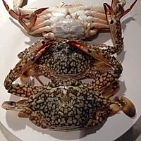 香辣梭子蟹的做法图解1