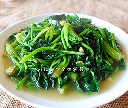 不涩口又嫩的清炒菠菜的做法