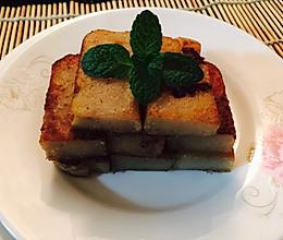 广式芋头糕(广式腊肉味)的做法