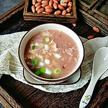 特色花生疙瘩汤