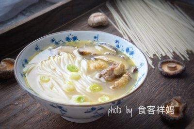 香菇炖鸡米线