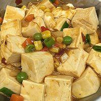 简易懒人版,麻婆嫩豆腐~的做法图解8