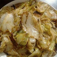 干锅圆白菜