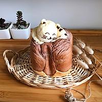懒猫吐司#柏翠辅食节-烘焙零食#