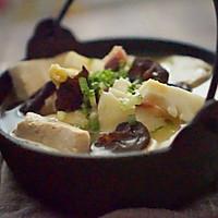 蜂蜜腊肉豆腐煲,深秋时节的暖心馈赠