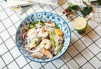 #美食新势力#泰式海鲜粉丝沙拉的做法
