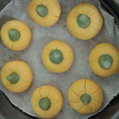 蜜豆南瓜糕的做法 步骤9