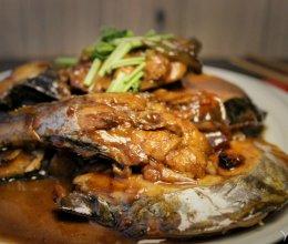 #美食视频挑战赛# 家常红烧鲅鱼的做法
