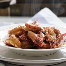 炒虾,十分简单的一道大虾做法